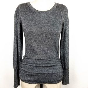 Banana Republic Sparkly Shimmer Wool Blend Sweater